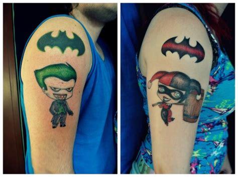 batman tattoo couple matching friendship tattoos tumblr