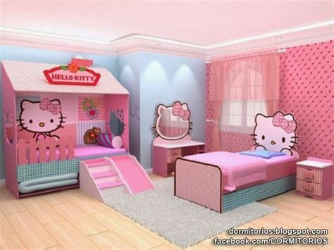 hello kitty bedroom for girls 1000 images about dormitorios on pinterest desk nook