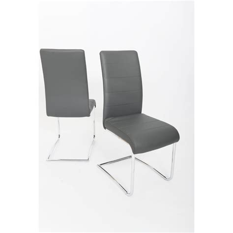faux leather dining chairs grey fairmont furniture fabio grey designer faux leather dining