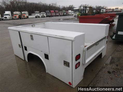used utility beds for sale used white service body service utility body for sale in