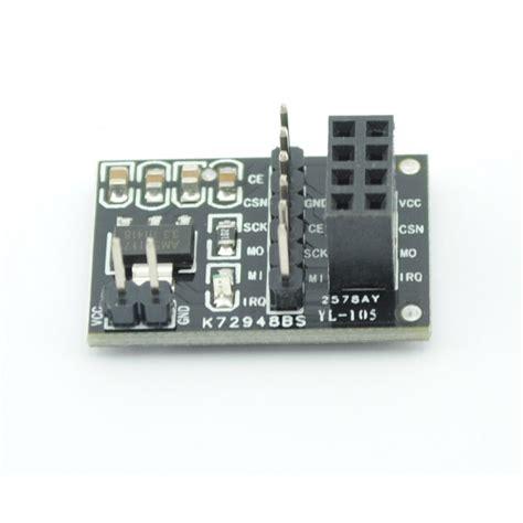 Rf Nrf 24l01 Uart Adapter 1 nrf24l01 wireless module adapter board nrf24l01 zadapter