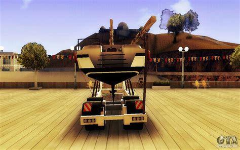 big boat gta 5 gta v big boat trailer for gta san andreas