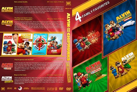 Alvin Also Search For Alvin And The Chipmunks The Collection Dvd Covers 2007 2015 R1 Custom
