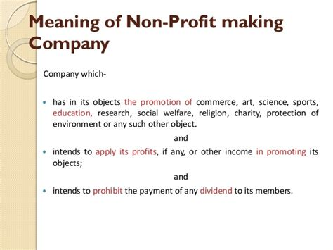 no section 8 mean section 8 of companies act 2013