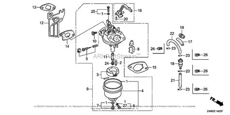 honda gx120 parts diagram honda gcv 190 engine carburetor diagram honda gx120