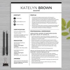 Resume Templates For Microsoft Word For Teachers 1000 Ideas About Resume Template On Resumes Teaching Resume And