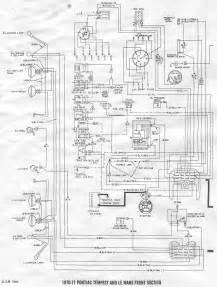 pontiac tempest and le mans 1970 1971 front section wiring diagram all about wiring diagrams
