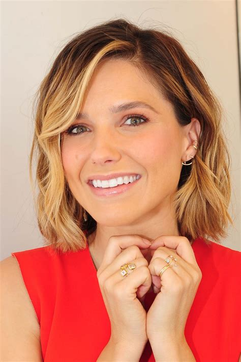 bush hairs sophia bush at nbc studios in nyc september 2015