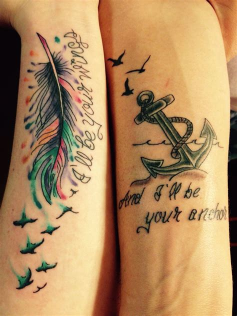 partner tattoos 20 matching ideas for to create a lasting