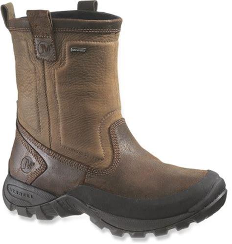 rei winter boots merrell bergenz waterproof winter boots s at rei