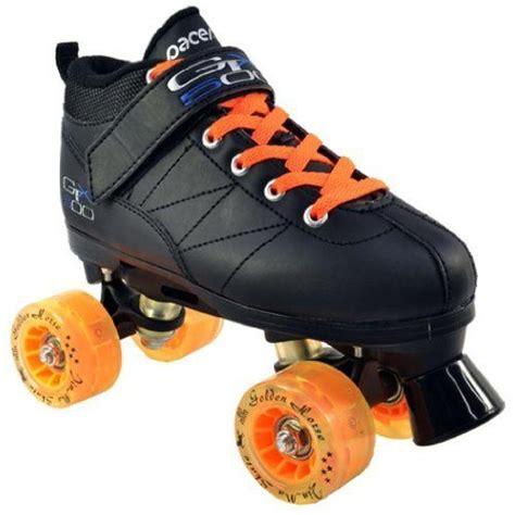 light up speed skates pacer mach 5 gtx500 black speed skates with 8 orange