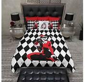 Harley Quinn Harlequin Duvet Bedding Sets  Ink And Rags