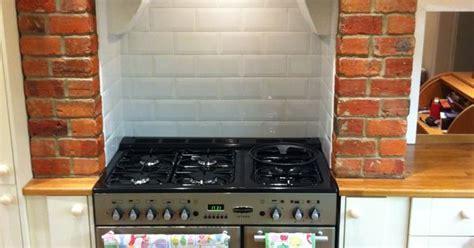 range cooker, chimney breast, Kitchen.   Kitchen