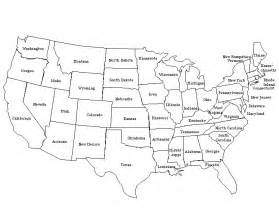 geography united states outline maps geography