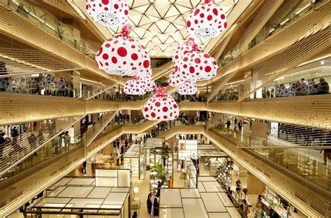 ginza  tokyo mall review conde nast traveler