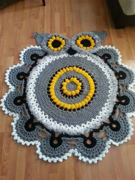 owl rugs for owl crochet doily rugs are so adorable beautiful rugs and ravelry