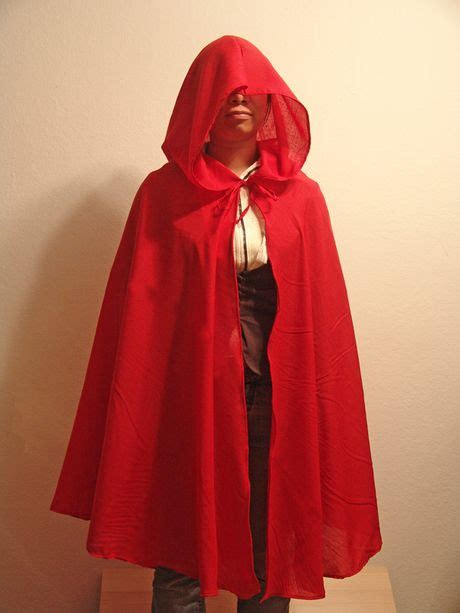 sewing pattern hooded cape hooded cape pattern