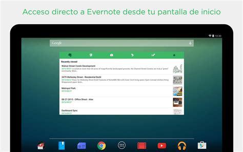evernote apk evernote v0 9 android apk descargar