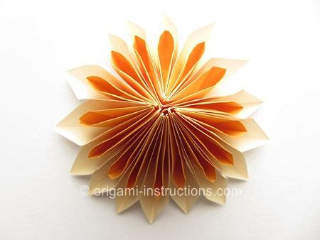 Origami Dahlia - 17 best images about origami paper crafts on