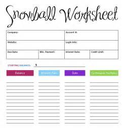 Debt Spreadsheet Template Debt Snowball Worksheet Printable Search Results