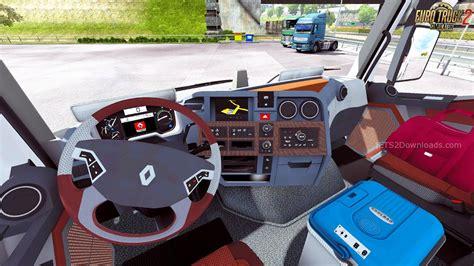 renault truck interior renault range t interior v7 0 ets 2 mods ets2downloads