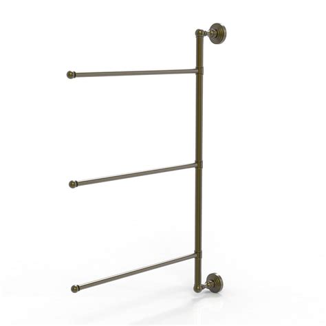 swing arm towel rack allied brass dottingham collection 3 swing arm vertical 20