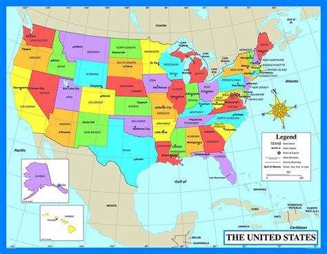 map of the united states just states harpwheels com homepage u s national park service