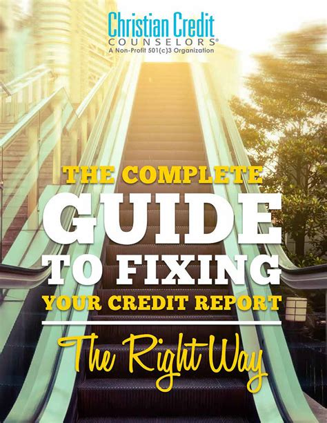 the complete guide to fixing your credit report crown