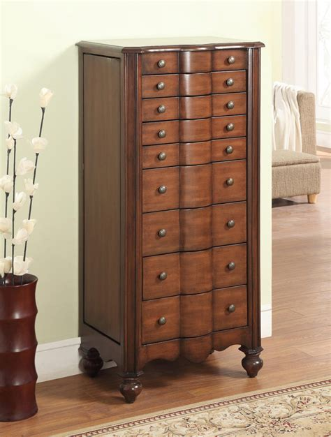 jewelry armoire mahogany powell mahogany jewelry armoire 612 314 homelement com