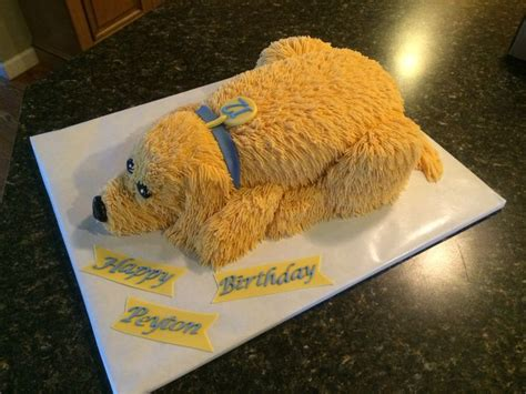 golden retriever cake golden retriever cake my cakes