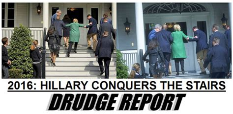 hillary clinton falling down stairs the daily caller hillary slips after creepy hug from biden