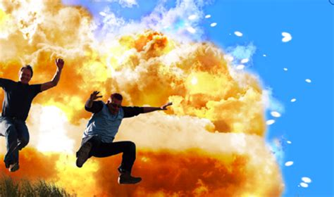 Mythbusters how to create an amazing explosion photoshop tutorial