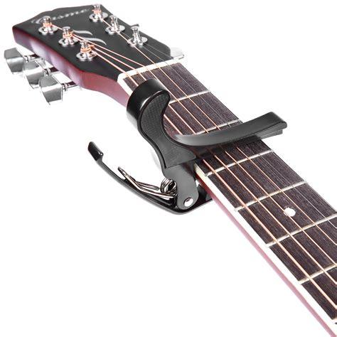 Capo Gitar Cowboy New black change tune cl key capo for acoustic electric guitar ebay