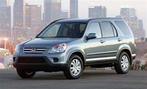 2006 honda crv car and driver