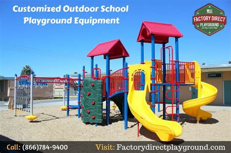 customized outdoor school playground equipment