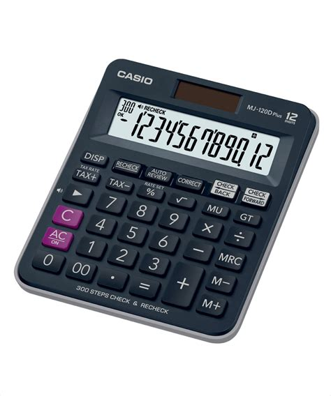 Casio Kalkulator Jj 120d Plus casio mj 120d plus bu desktop calculator available at