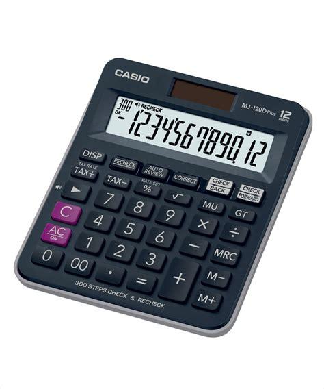 Casio Desktop Dj 120d casio mj 120d plus bu desktop calculator available at