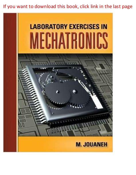 Setrika Wajah Lomela laboratory exercises in mechatronics 1st edition pdf ebook