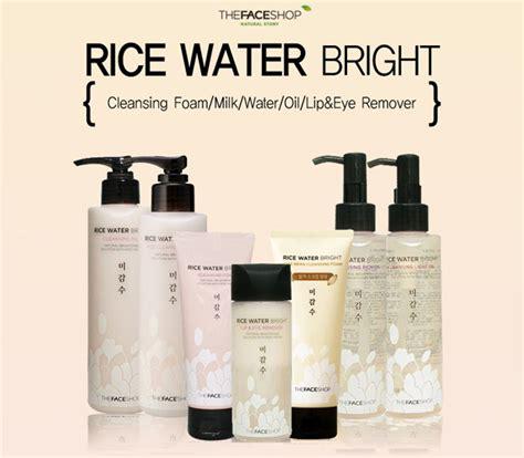 The Shop Rice Water Bright Cleansing Foam sữa rửa mặt the shop rice water bright cleansing foam