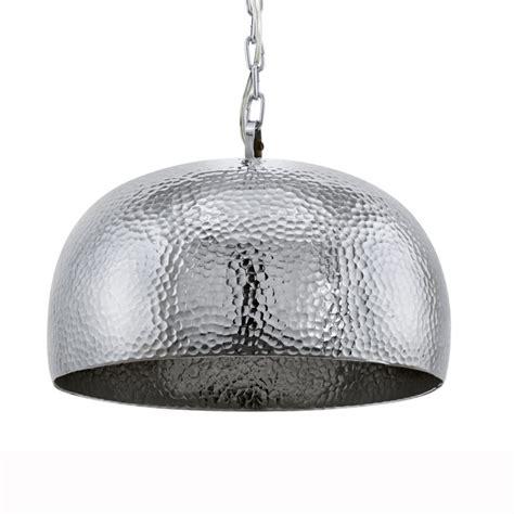 hammered steel pendant light eglo 49182 dumphry pendant light in hammered chrome