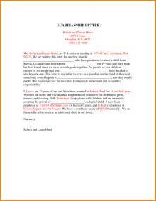 14 how to write a legal guardianship letter ledger paper