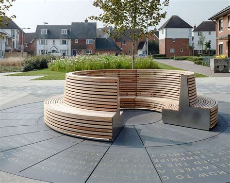 steambent larch public seating