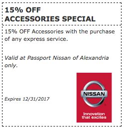 Passport Nissan Of Alexandria by 15 Accessories At Passport Nissan Va Passport