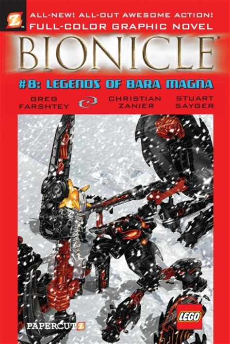 Lego Graphic 8 bionicle graphic novel 8 legends of bara magna