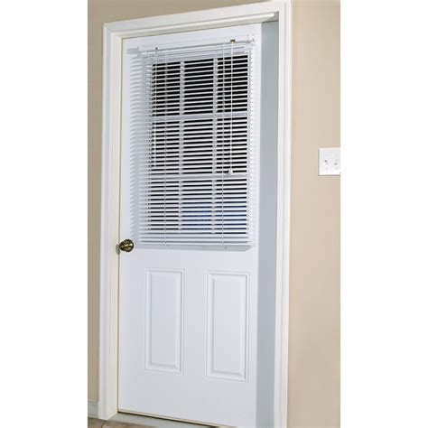 skotz manufacturing white magnetic mini blind for steel - Blinds For Door