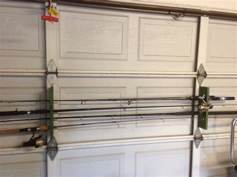Rods Overhead Door Garage Fishing Rod Holder Myideasbedroom