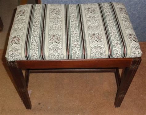 vanity benches on sale upholstered vanity bench b5431 for sale antiques com classifieds