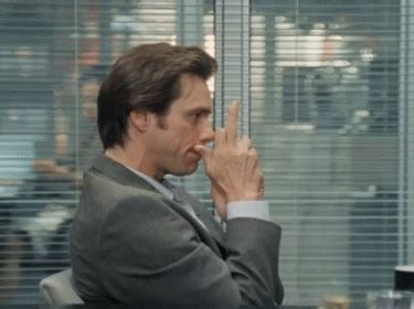 Middle Finger Meme Gif - jim carrey middle finger gif find share on giphy