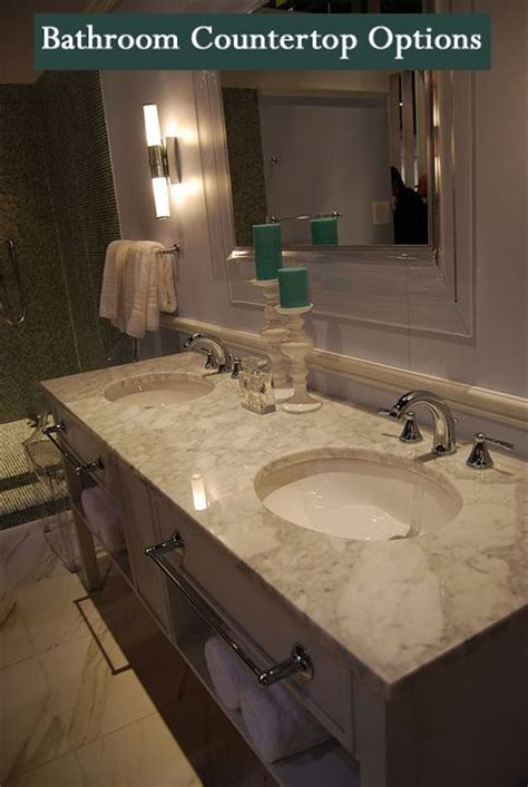 types of bathroom countertops 25 best ideas about types of countertops on pinterest