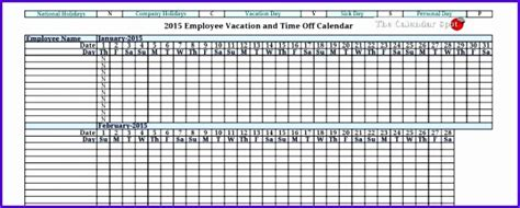 employee attendance tracking ms excel template